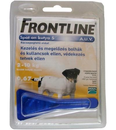 Frontline-2-10kg-kutya-
