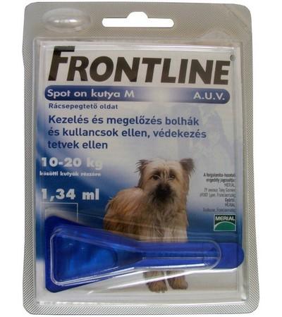 Frontline-10-20kg-kutya-
