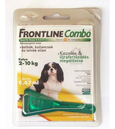 Frontline-combo-2-10kg-kutya-