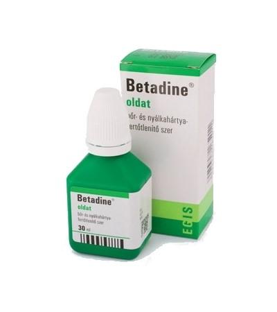 Betadine-oldat