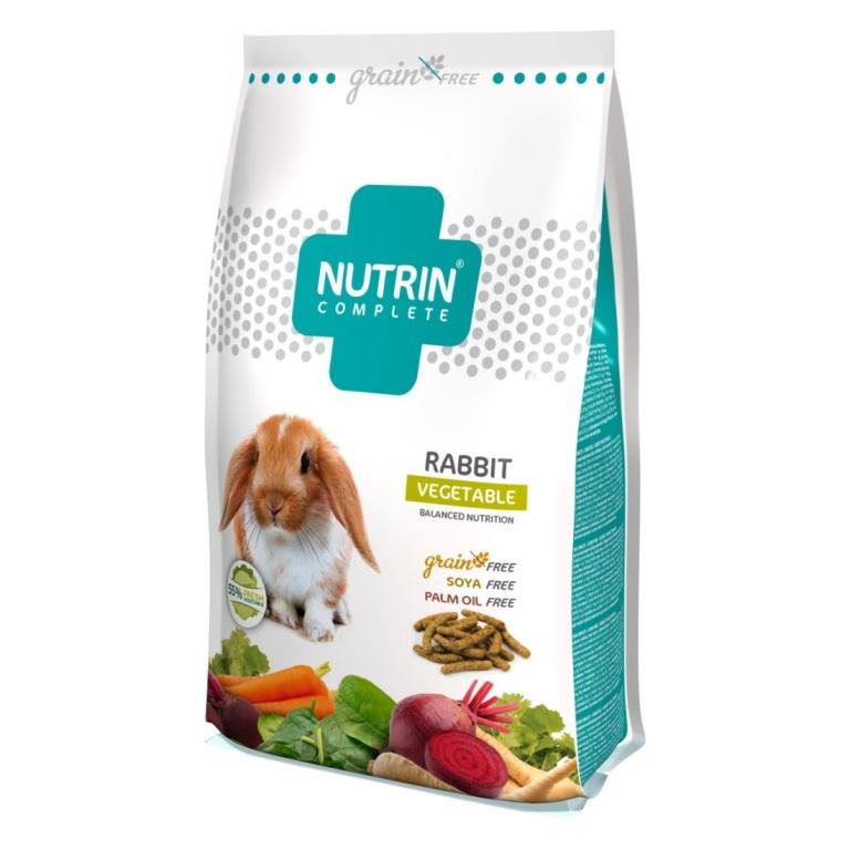 Nutrin-Complete-Rabbit-vegetable-400g